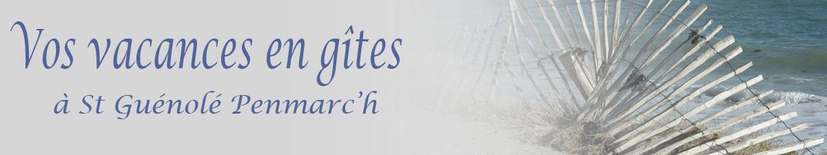 Vos vacances en gîtes à St Guénolé Penmarch